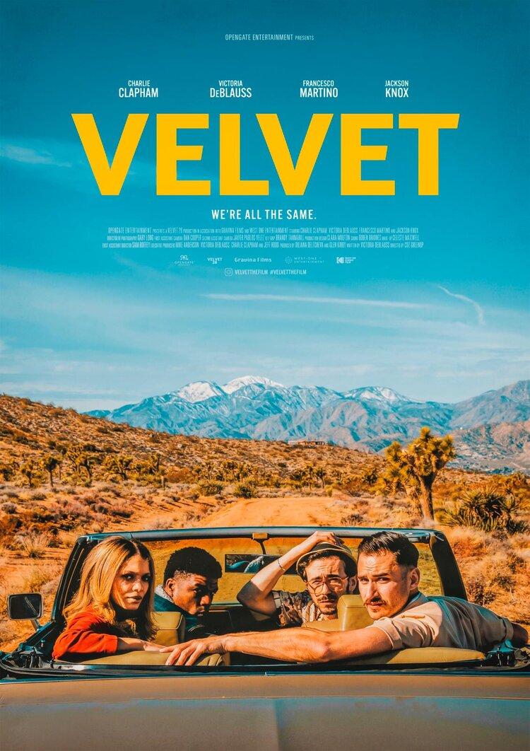 Velvet Writer/Director/Producer Victoria DeBlauss Wins Emerging Filmmaker Award!