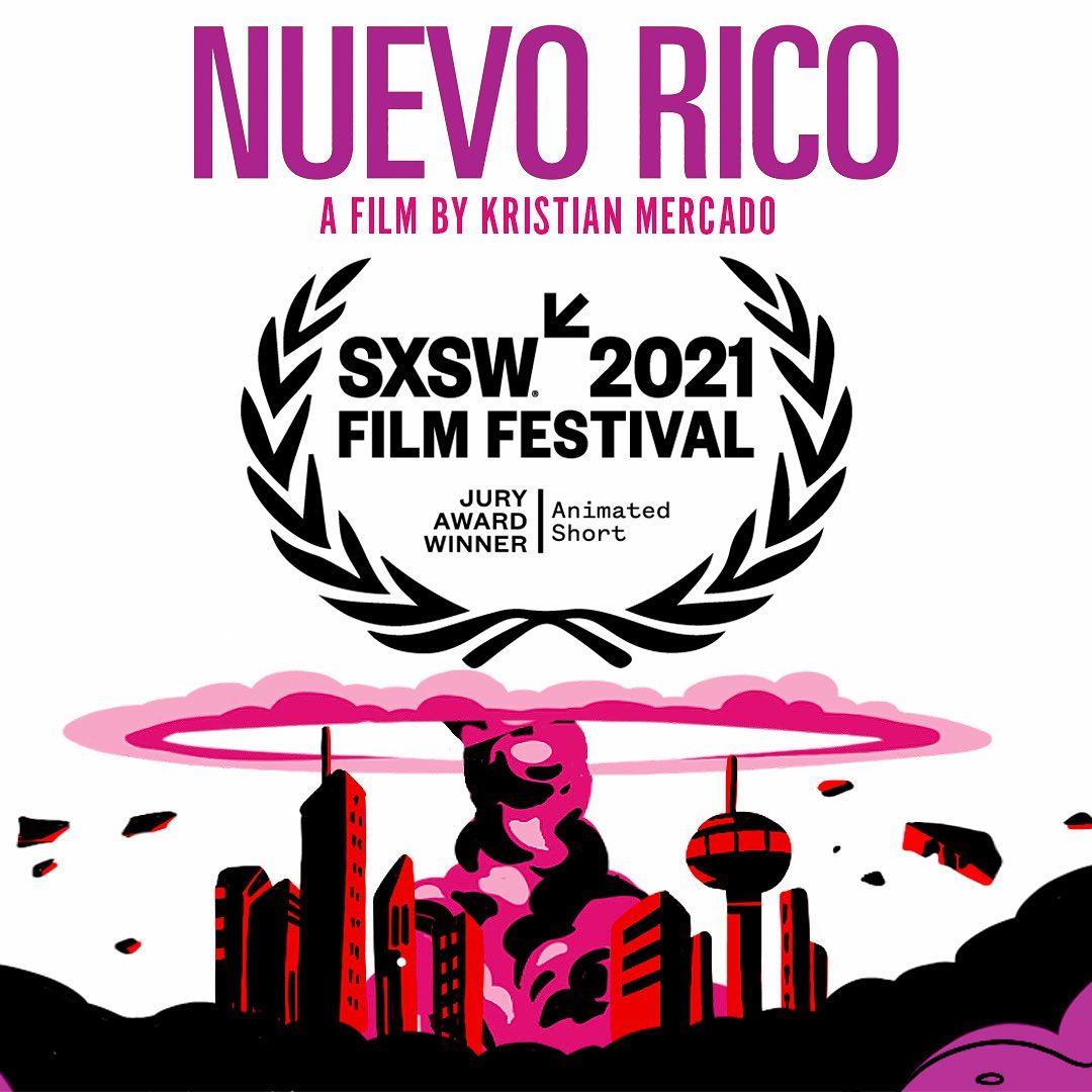 Nuevo Rico Wins Animated Short Jury Award At SXSW!